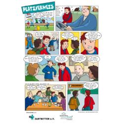 """Comic """"Platzverweis"""" für Jungen"""