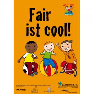 "Plakat ""Fair ist cool!"""