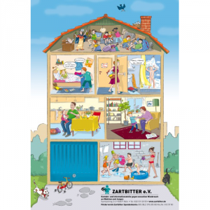 "Plakat ""Kinderhaus"""