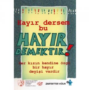 Nein ist NE!N! in türkischer Sprache
