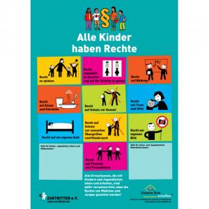 "Plakat ""Alle Kinder haben Rechte"""