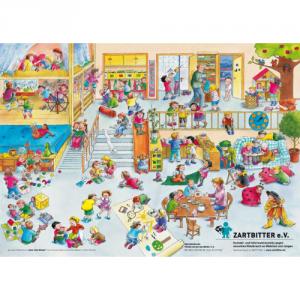 "Plakat ""Sooo viele Kinder"" (Kindergarten)"