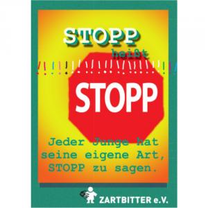 Stopp heißt Stopp! Selbstbehauptungstipps für Jungen