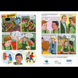 """Cartoon """"Voll daneben"""""""