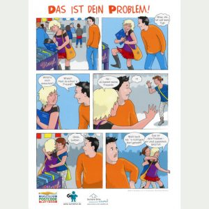 "Cartoon ""Das ist dein Problem!"""