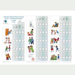 Sexuelle Übergriffe durch Kinder im Vor- und Grundschulalter – ja oder nein? Illustriertes Arbeitsblatt für Fachkräfte