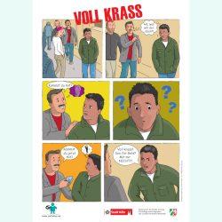 "Cartoon ""Voll krass"""
